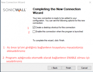 sonicwall global vpn client kurulumu 2