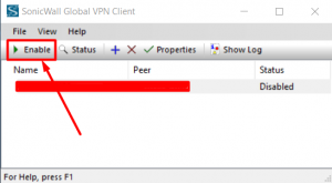 sonicwall global vpn client kurulumu 3