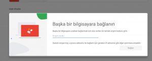 Google Remote Desktop Uzak Masaüstü Uygulaması 5-2